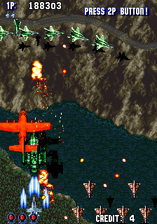 Aero Fighters - Sonic Wings - Gameplay Screenshot