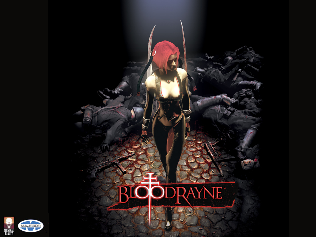 Bloodrayne title screen