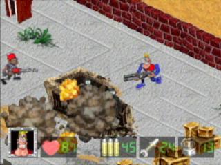 Captain Quazar - Gameplay Screenshot 1