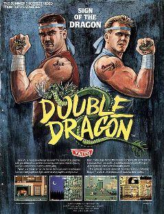 Double Dragon - Arcade Cover