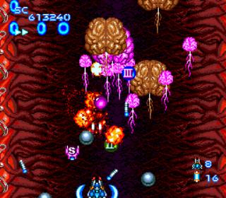 Gunhed - Blazing Lazers - Gameplay Screenshot 4