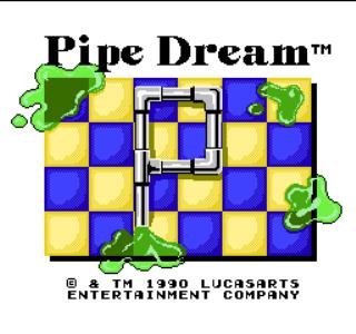 Pipe Dream - Title Screen