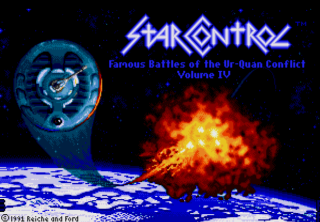 Star Control - Title Screen