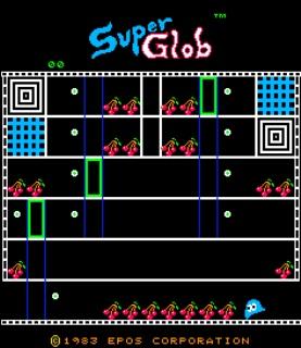 Super Glob - Beastie Fetie - Gameplay Screenshot 1