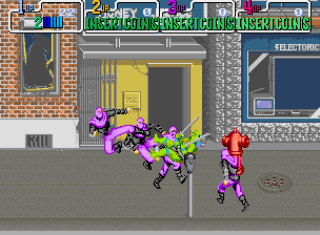 Teenage Muntant Ninja Turtles - Gameplay Screenshot