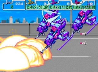 Teenage Muntant Ninja Turtles - Gameplay Screenshot