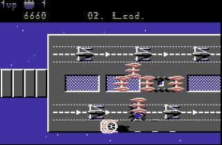 Uridium- Commodore 64 - Gameplay Screenshot