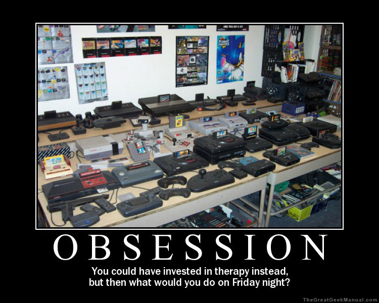 Video Game obsession