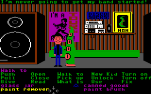 Maniac Mansion c64 tentacle