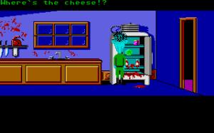 Maniac Mansion Atari ST kitchen screenshot