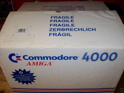 Amiga 4000 in box