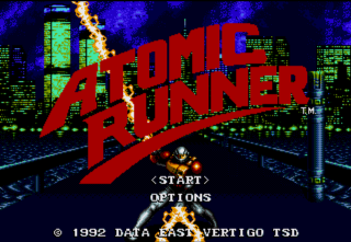 Atomic Runner - Gameplay Screenshot 1
