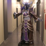 WoW Draenei cosplay