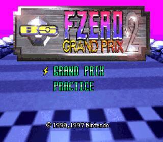 F-Zero Grand Prix 2 - Gameplay Screenshot