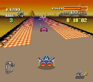 F-Zero Grand Prix 2 - Gameplay Screenshot