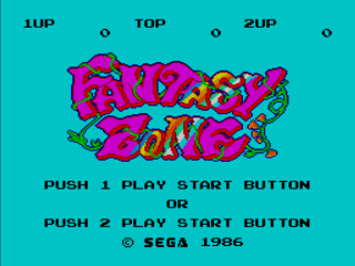 Fantasy Zone - Master System - Gameplay Screenshot