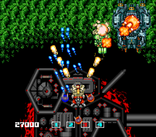 Image Fight - Gameplay Screenshot