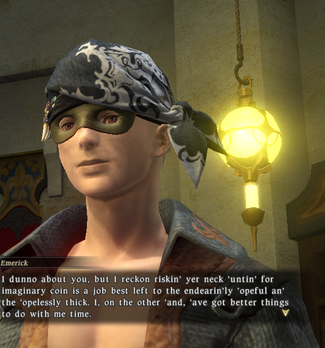 LOL Wut Pirate Final Fantasy XIV