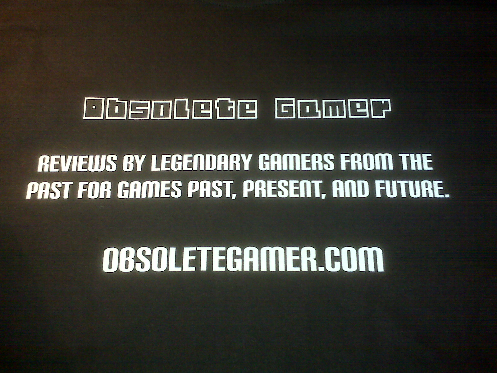 Obsolete Gamer T-Shirt Contest Ended