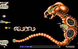 R-Type - Gameplay Screenshot