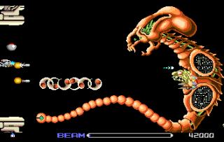 R-Type - Gameplay Screenshot
