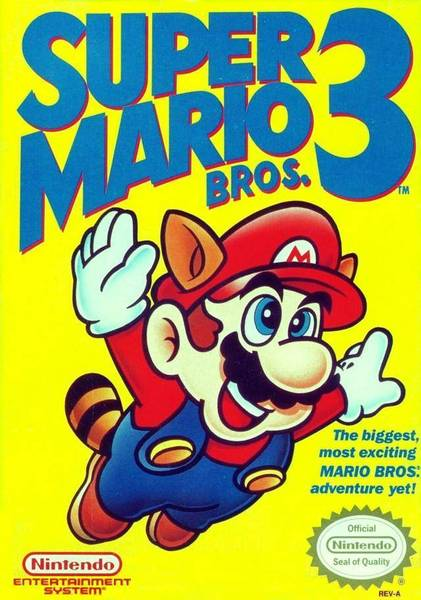 Super Mario Bros 3 Box Cover