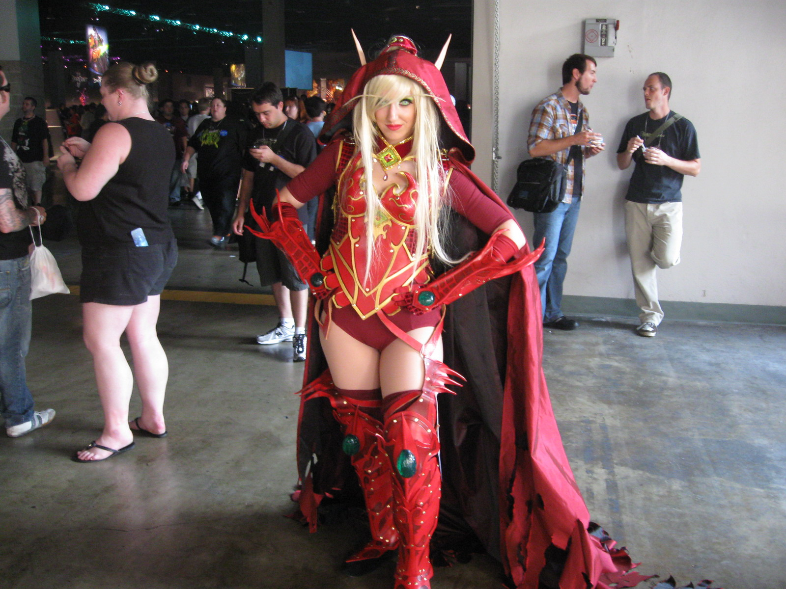 Girls naked in blood elf costume hentai gallery
