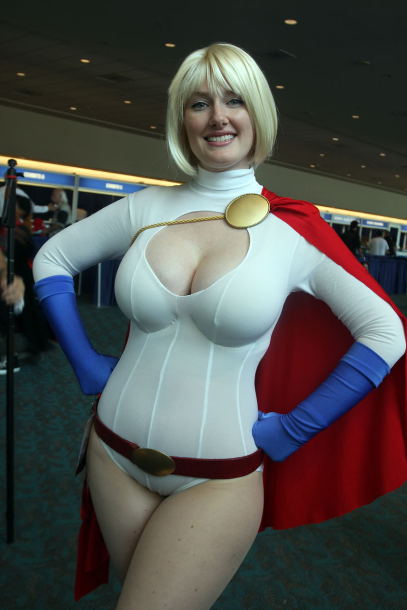 Phrase Power girl cosplay huge consider, that