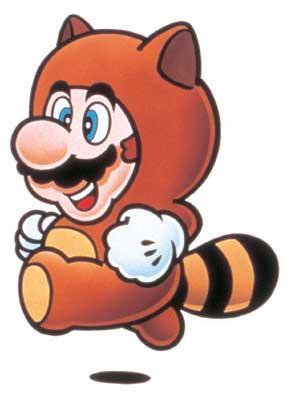 Super Mario Bros 3 Tanooki Suit