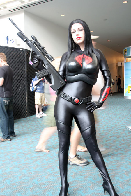 gi joe cobra baroness cosplay girl
