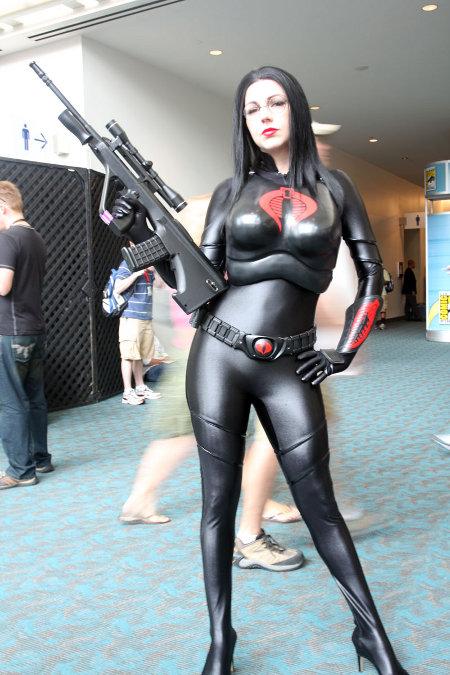 gi joe cobra baroness cosplay girl