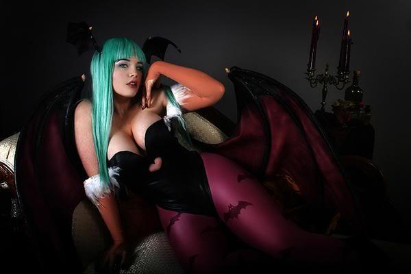 darkstalkers cosplay hot girl