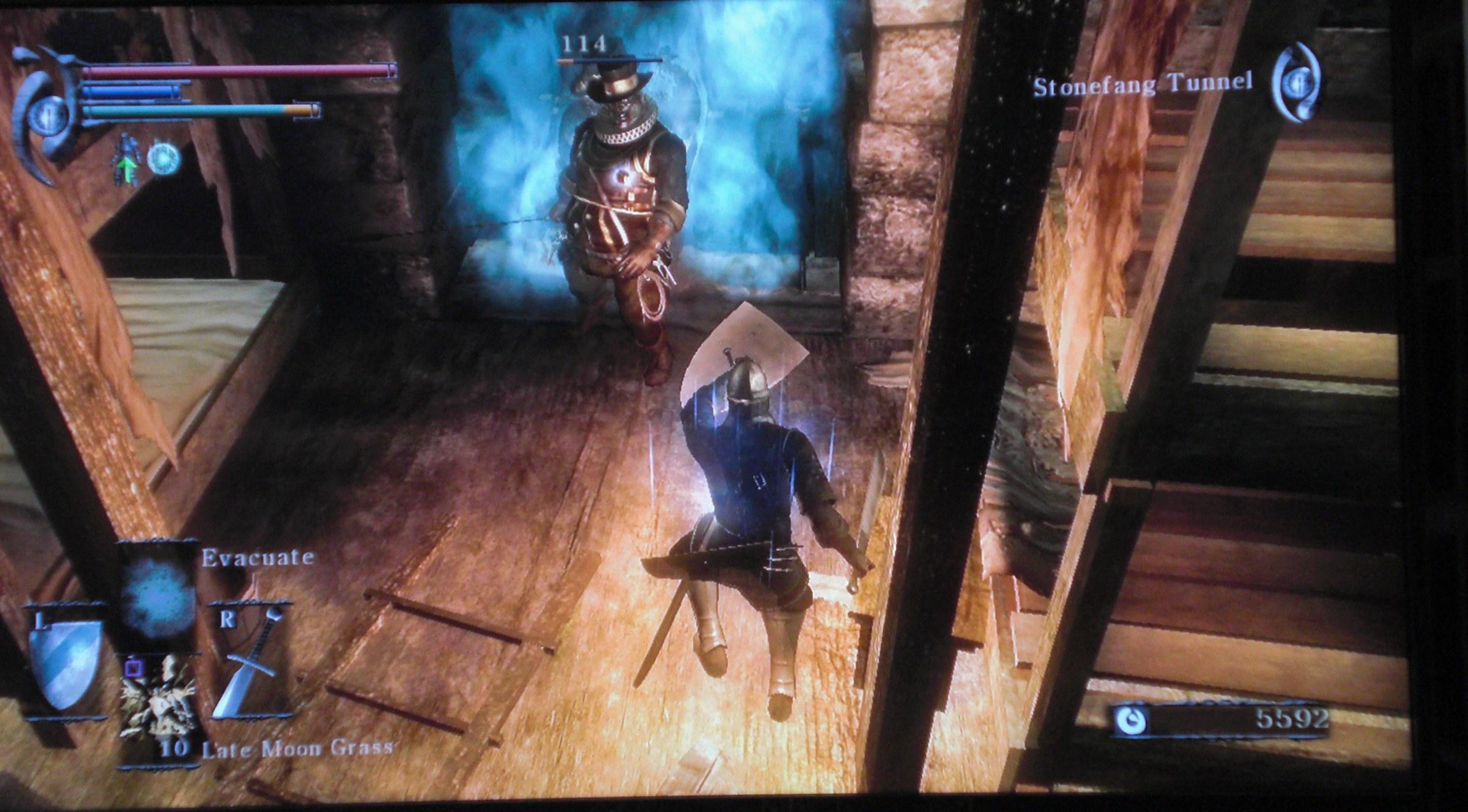 Demon's Soul tunnel