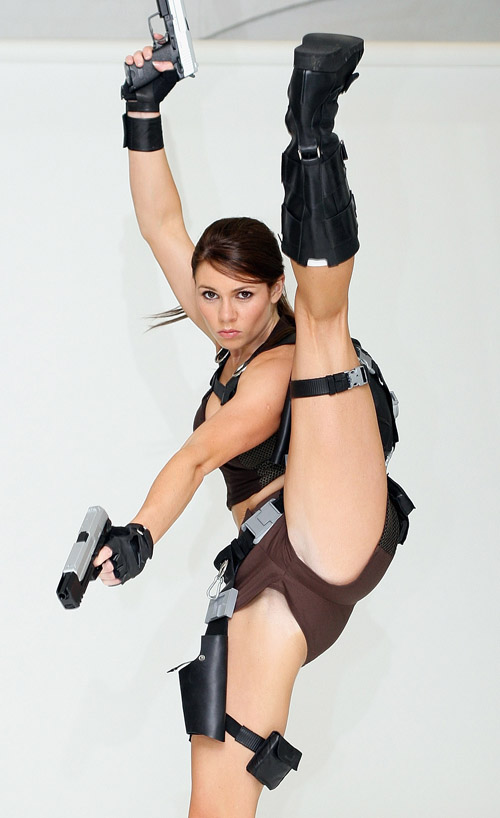 The New Face Of Lara Croft