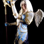 priest cosplay girl