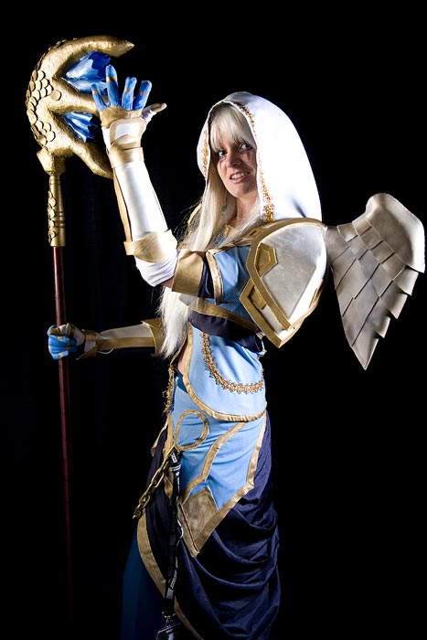 priest cosplay girl