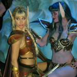 sexy elf cosplay girls