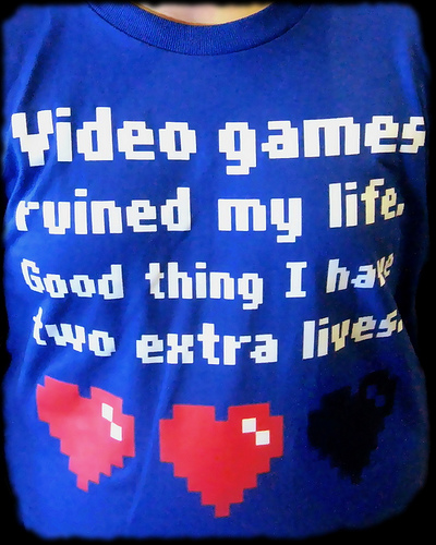Video Game Addiction shirt