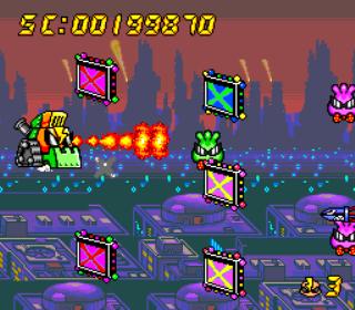 Air Zonk - PC Engine - Gameplay Screenshot