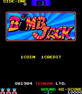 Bomb Jack - Gameplay Screenshot 1