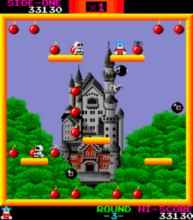Bomb Jack - Gameplay Screenshot 3