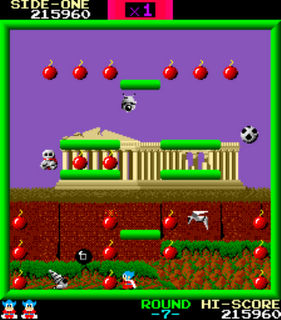 Bomb Jack - Gameplay Screenshot 4