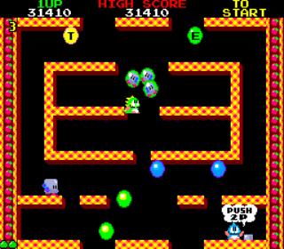 Bubble Bobble - Arcade Gameplay Screenshot 2