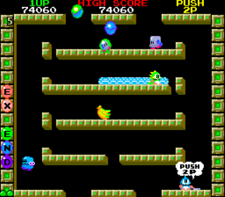 Bubble Bobble - Arcade Gameplay Screenshot 3