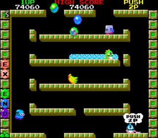 Bubble Bobble - Arcade Gameplay Screenshot 3