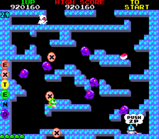 Bubble Bobble - Arcade Gameplay Screenshot 4