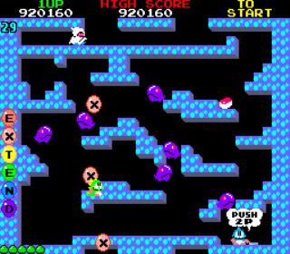 Bubble Bobble - Arcade Gameplay Screenshot 4
