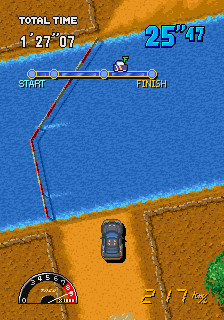 Drift Out - Arcade Gameplay Screenshot