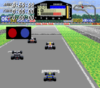 Exhaust Heat - F1 ROC - Race of Champions - Gameplay Screenshot 1