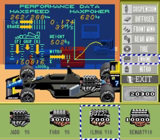 Exhaust Heat - F1 ROC - Race of Champions - Gameplay Screenshot 2